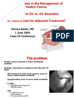 Gastric Cancer - HBazan