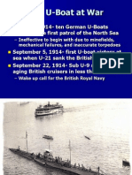 Chapter 14-Battles of the Atlantic WWI