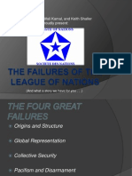 Chapter 15-Failures of the League of Nations (Keith, Wali, Nigel)