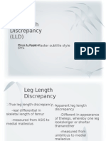 Leg Length Discrepancy
