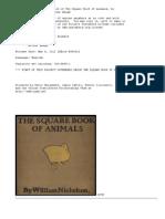 Square Book of Animals