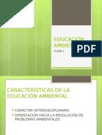 EDUCACIÓN AMBIENTAL clase 1