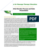 AFMTE 2012 Election Mailout
