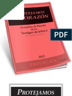 Programa Asamblea de Distrito 2012 - Protejamos El Corazon@