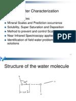 Water Characterization