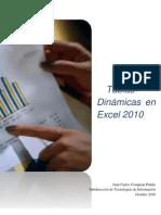 Tablas Dinámicas en Excel 2010