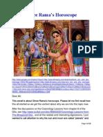 Shree Rama's Horoscope
