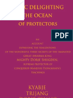 Music Delighting the Ocean of Protectors by Kyabje Trijang Rinpoche