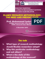 10IFWMI USIM-Islamic Research Methodology