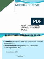 Distintas Medidas de Coste