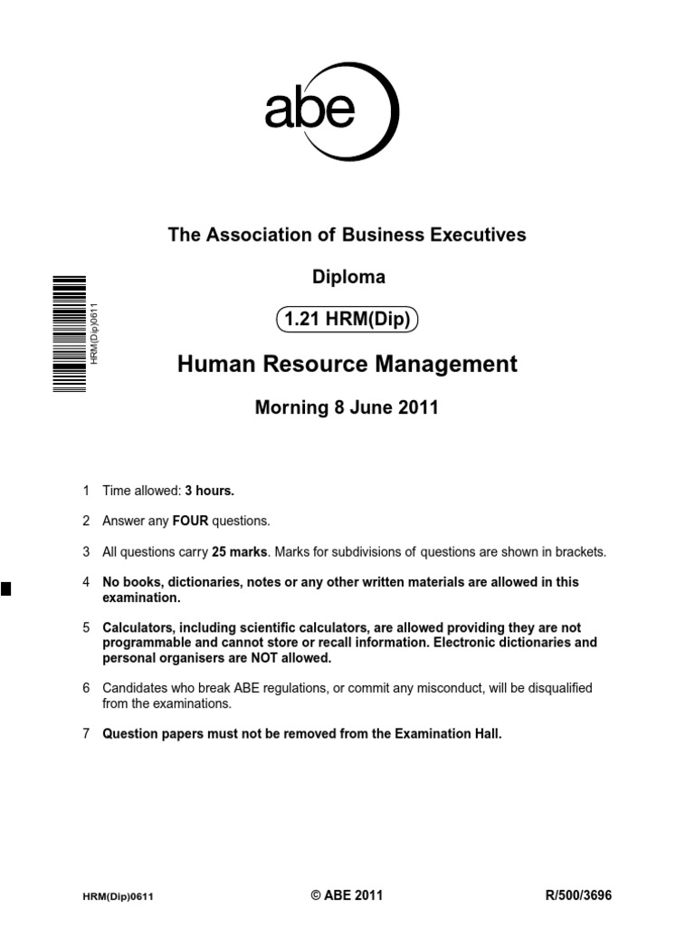 top 10 journals in human resource management