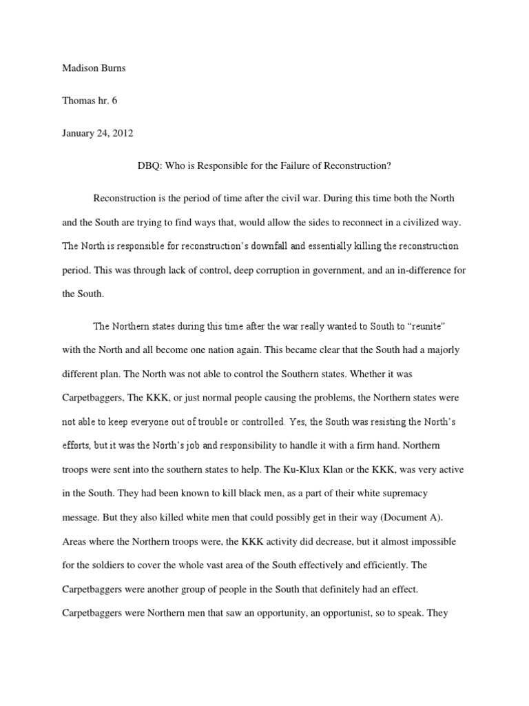 manifest destiny dbq essay Get custom essay sample written according to your requirements  was justified  in going to war with mexico because, of the manifest destiny, mexico robbed the .