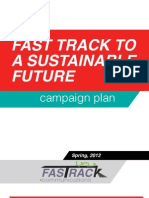 "Public Relations Campaign Plan for ""Fast Trains"