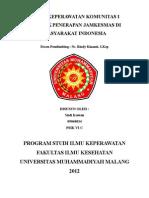 Polemik Jamkesmas Indonesia 2012