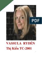 Nhật Ký Vassula Rydén Thị Kiến Thiên Chúa *Trọn Năm 2001*