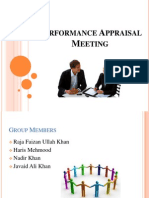 Performance Apraisal Meeting
