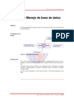 L 6 Manejo de Base de Datos
