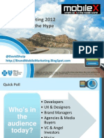 David Ip - Mobile Marketing 2012 - Demystifying the Hype