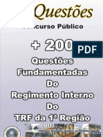 E-BOOK DO REG. INT. TRF 1ª REGIÃO