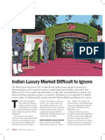 Indian Luxury Market Difficult to Ignore