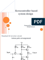 Micro Controller Based System Design