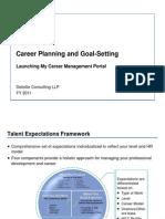 Goal Setting +Career Management Portal Guidelines - FINAL