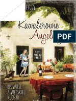 """Brian O'Reilly, """"Kawalerowie Angeliny. Opowieść z włoskiej kuchni"""", Wydawnictwo Replika 2012"""
