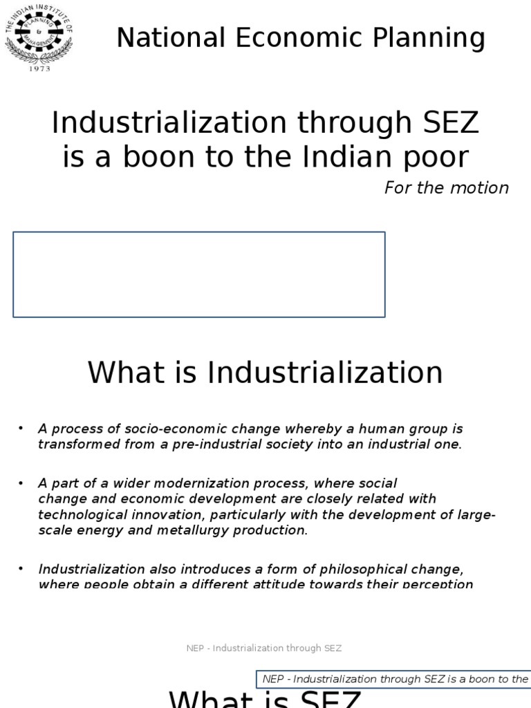 What is industrialization 61