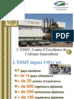 Présentation ESMT-Fez