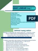 Aljabar Linear Bag i