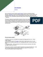 Konstruksi Dan Cara Kerja Alternator
