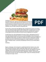 History of Burger