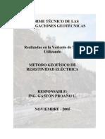 Informe Tecnico Investigaciones Geotecnicas