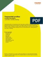 Trapezoidal Profiles - Product description