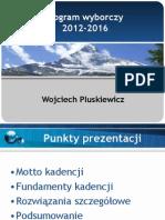 Program Wyborczy 11. maja 2012