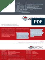Flyer DialogKulturWirtschaft BarCamp 2012