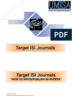 Target ISI Journals-How to Write and Publish ISI Papers-By Nader Ale Ebrahim
