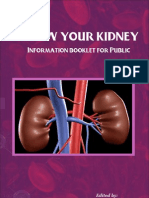Know Your Kidney - Information Booklet