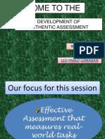 Pavte-claveria Authentic Assessment