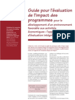 6Guide Pour l Evaluation de l Impact Des Programmes