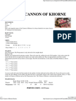 Chaos - Cannon of Khorne