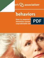 Alzheimer Behaviour