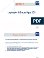 Progres therapeutique 2011