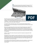 History of the Glockenspiel