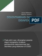 Dekontaminasi, Disinfeksi