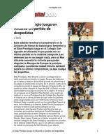 Previa Mar Alicante Elda Prestigio Vivirdigital
