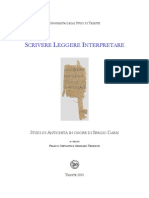 CREVATIN y TEDESCHI 2005 - Studi di Antichità in Onore di Segio Daris