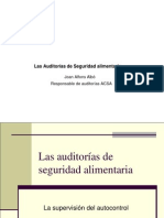 Auditorias de Seguridad Aliment Aria ACSA