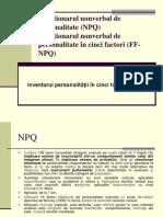 Chestionarul Nonverbal de Personal It Ate (NPQ), FF-NPQ