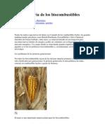 Breve Historia de Los Bio Combustibles